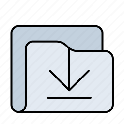 document, documents, download, file, folder, storage icon