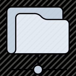archive, connection, data, database, disk, drive, folder, internet, net, network, server, storage, web icon