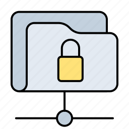 folder, key, lock, locked, password, protection, safe, safety, secure, security, shield icon