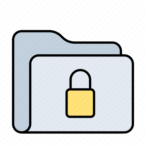 folder, key, lock, open, padlock, password, protection, secure, security icon
