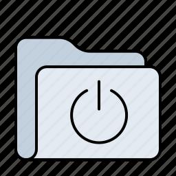 data, database, document, documents, folder, holder, network, server, start, storage icon
