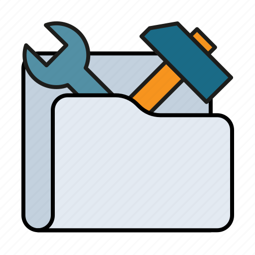 configuration, equipment, folder, options, preferences, repair, setting, settings, tool, tools icon