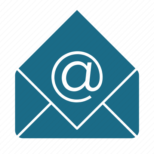 at, email, email client, email sent successfully, mail, mail client, mail sent icon