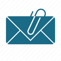 attachment, email, email attachment downloader icon