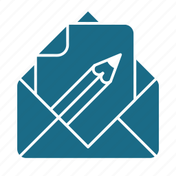 doc, edit, email icon