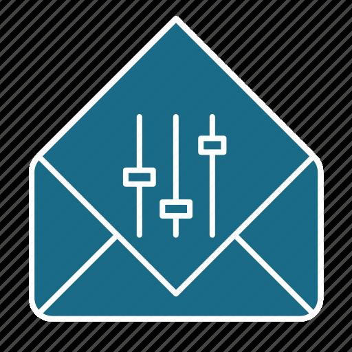 email, email preferences, mail preferences, preferences icon