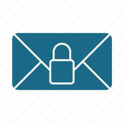 email, locked, private icon