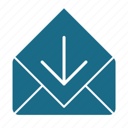 download, email, read icon