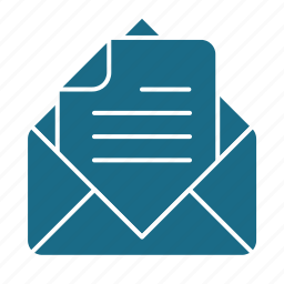 email, read, text icon