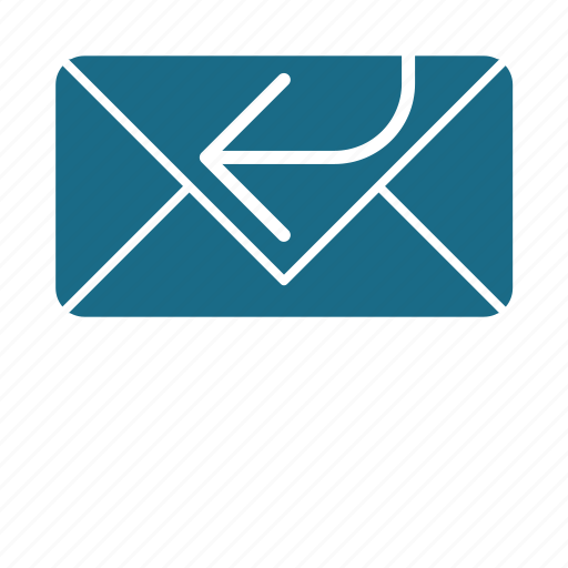 email, replay icon