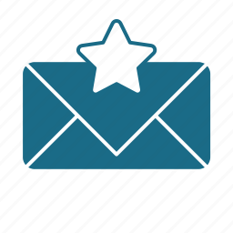 email, pref, star, unread icon