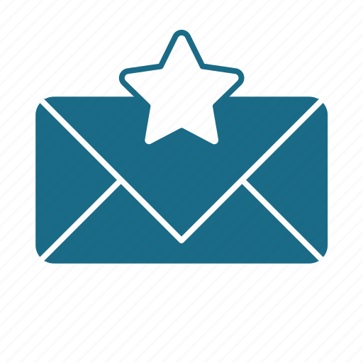 Email, pref, star, unread icon - Download on Iconfinder