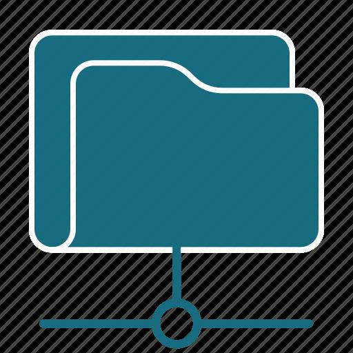 cloud, data, folder, net, network, server, storage icon
