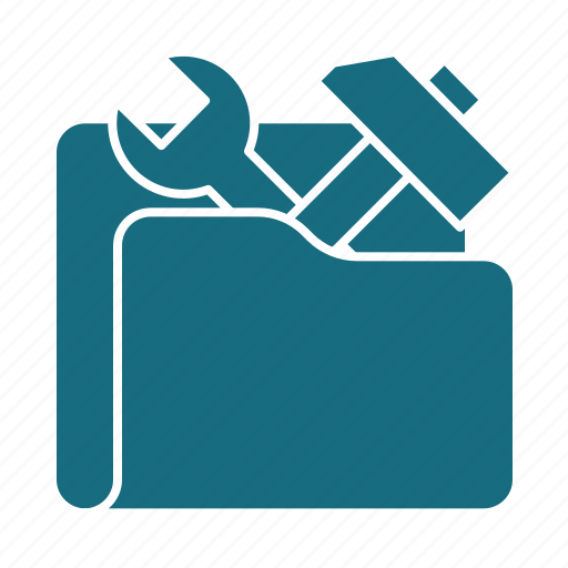 construction, file, folder, repair, tool, tools, work icon