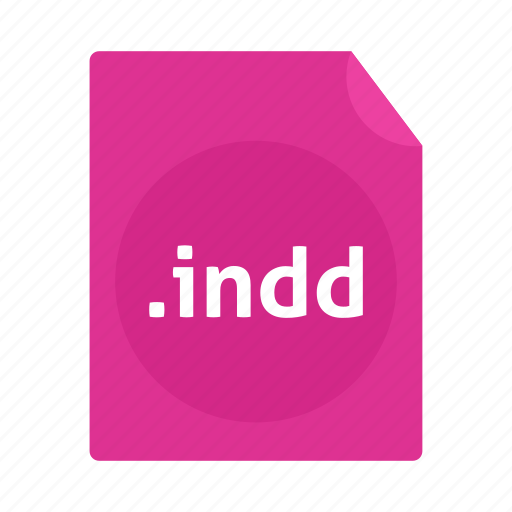 document, file, indd, name icon