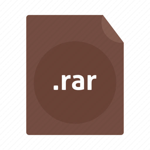 document, file, name, rar icon