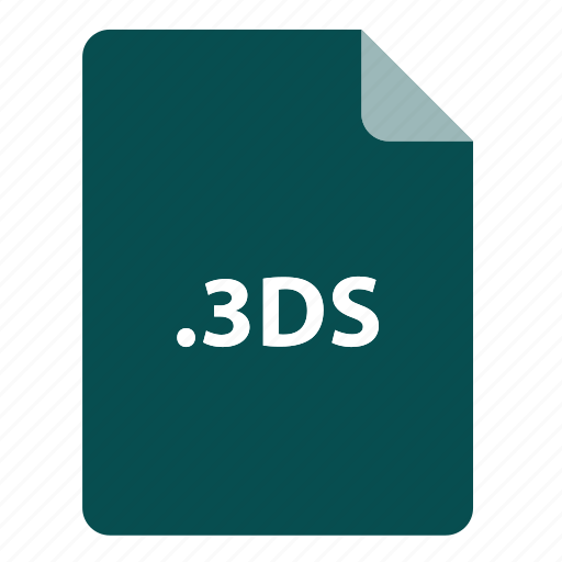 3ds, file, file extension, file format, file type icon