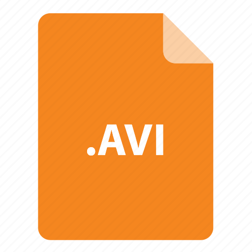 avi, file, file extension, file format, file type icon