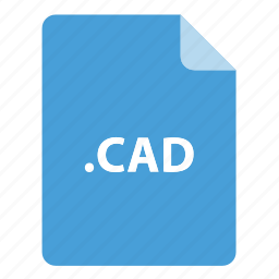 cad, file, file extension, file format, file type icon