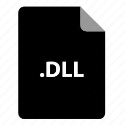 dll, file, file extension, file format, file type icon