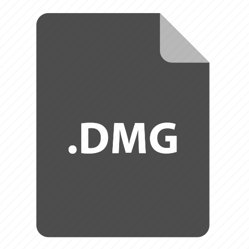 dmg, file, file extension, file format, file type icon