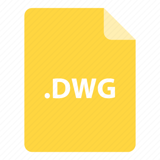 dwg, file, file extension, file format, file type icon
