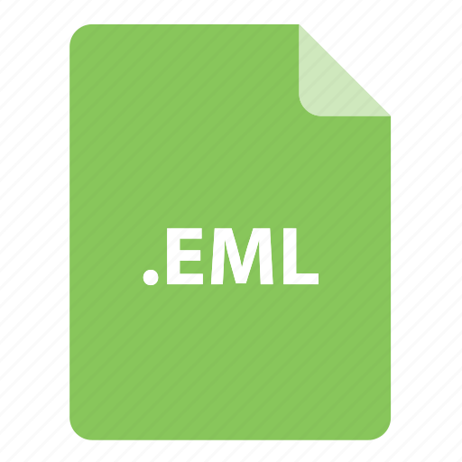 eml, file, file extension, file format, file type icon