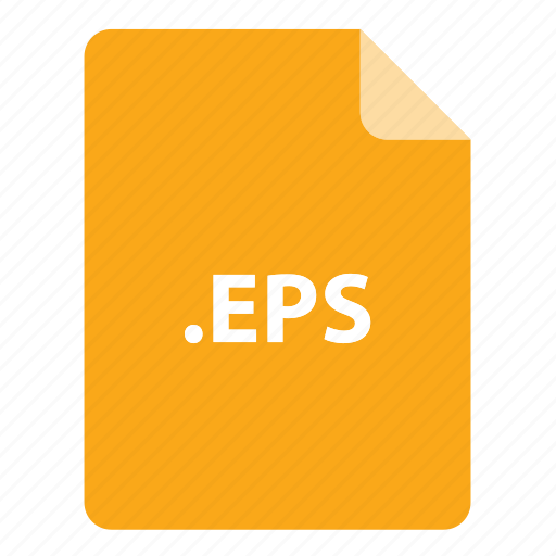 eps, file, file extension, file format, file type icon