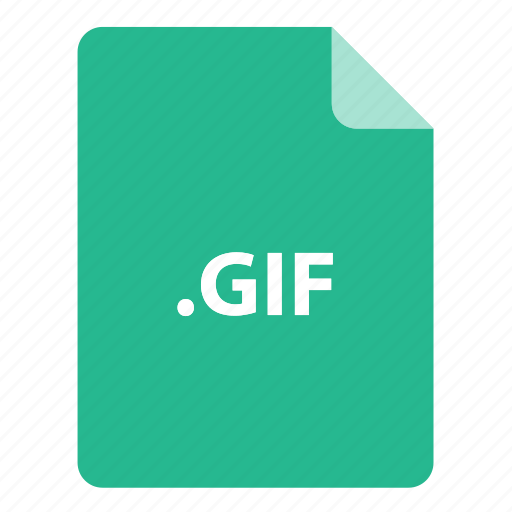 file, file extension, file format, file type, gif icon