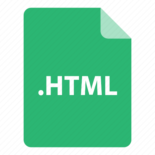 file, file extension, file format, file type, html icon