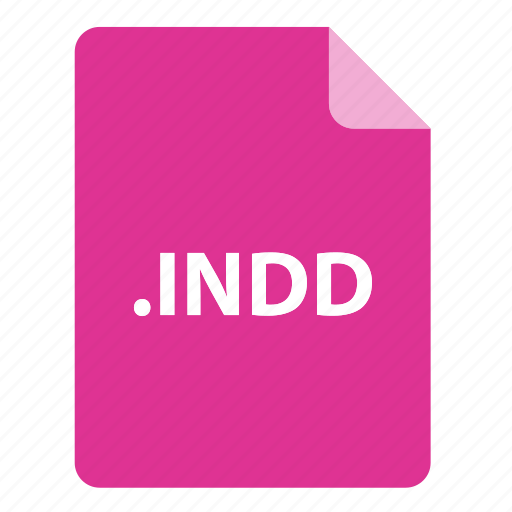 file, file extension, file format, file type, indd icon