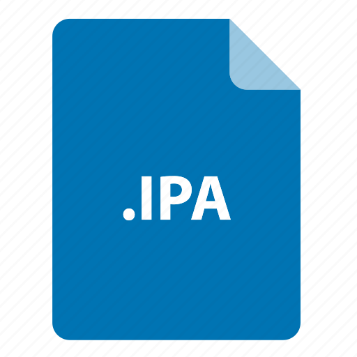 file, file extension, file format, file type, ipa icon