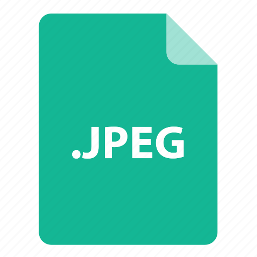 file, file extension, file format, file type, jpeg icon