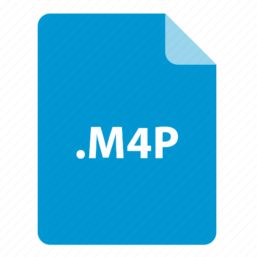 file, file extension, file format, file type, m4p icon
