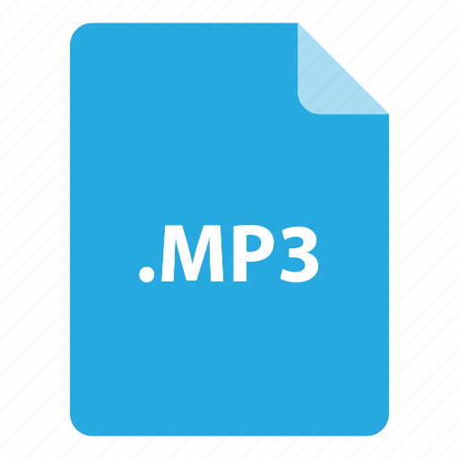 file, file extension, file format, file type, mp3 icon