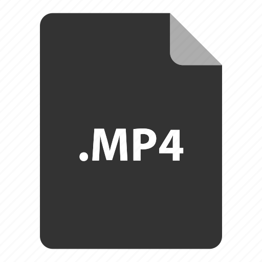 audio, file, file extension, file format, file type, graphic, motion, motion graphics, mp4, mp4 player, video icon