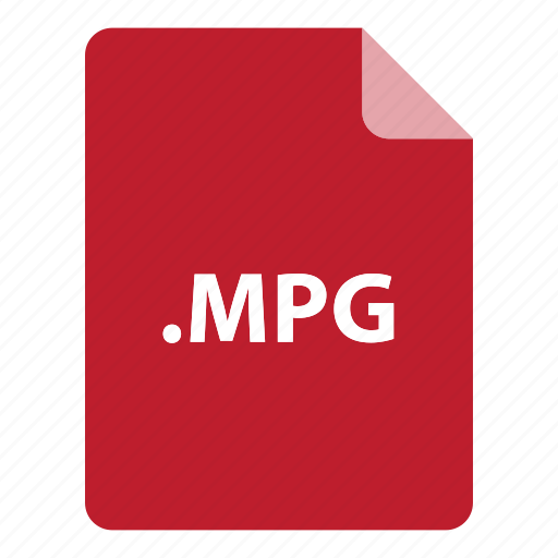 file, file extension, file format, file type, mpg icon