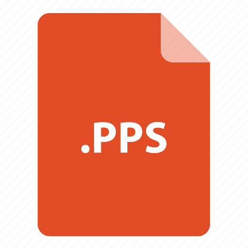 file, file extension, file format, file type, pps icon