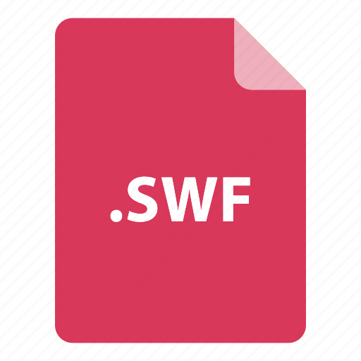 file, file extension, file format, file type, swf icon