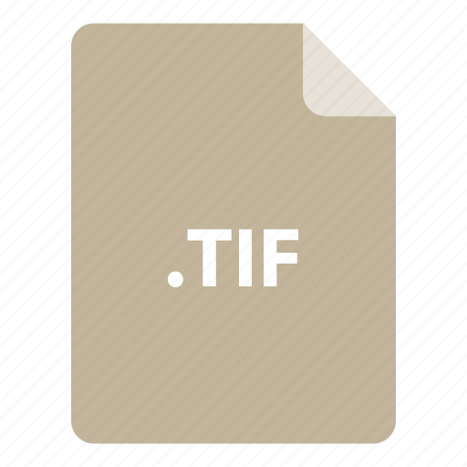 file, file extension, file format, file type, tif icon