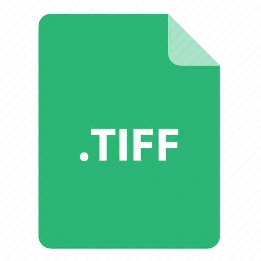 file, file extension, file format, file type, tiff icon