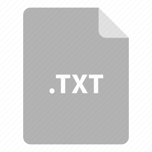 file, file extension, file format, file type, txt icon