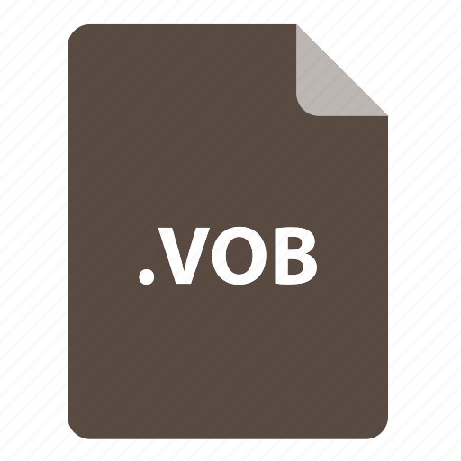 file, file extension, file format, file type, vob icon
