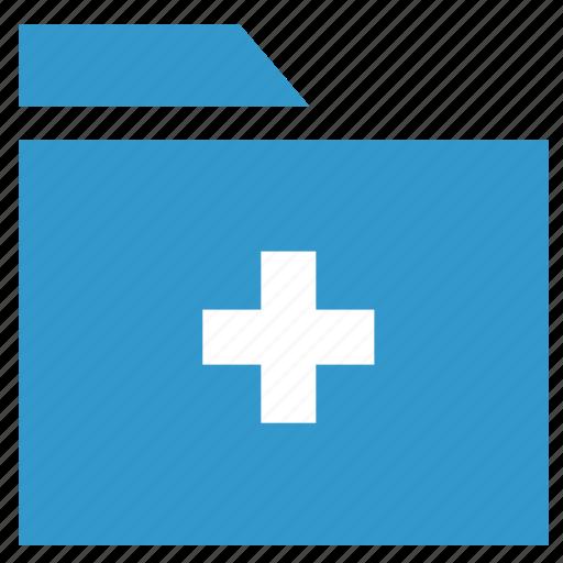 add directory, add folder, archive, document, folder icon