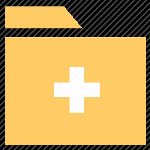 add directory, add folder, archive, directory, document, folder icon