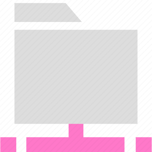 archive, document, folder, network folder icon
