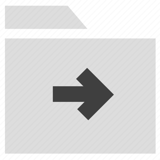 archive, document, folder, move folder icon