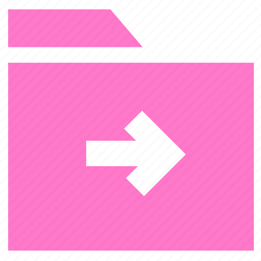 archive, document, folder, move folder icon