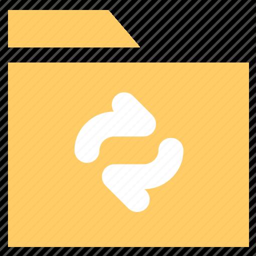 archive, document, folder, sync folder icon