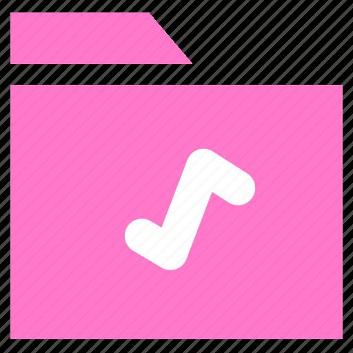 archive, document, folder, multimedia folder icon